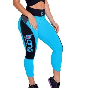 Bang cropped workout leggings